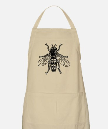 Buzz Buzz The Fly - Antique Illustration Apron