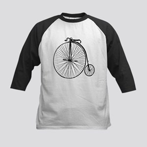 Antique Penny Farthing Bicycle Baseball Jersey