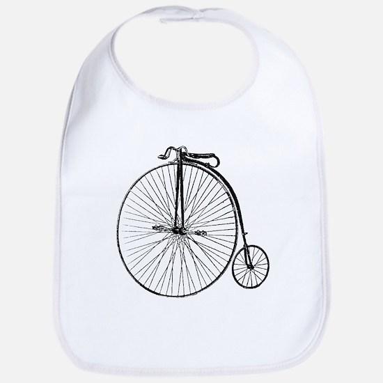 Antique Penny Farthing Bicycle Bib