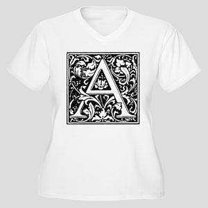 William Morris Alphabet - Letter Plus Size T-Shirt