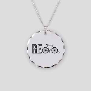 Re Bicycle Necklace