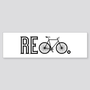 Re Bicycle Bumper Sticker