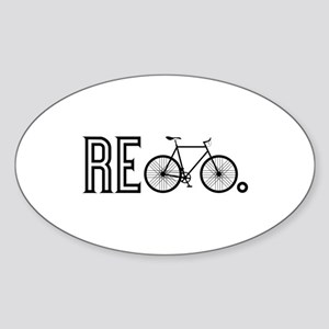 Re Bicycle Sticker