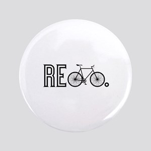 """Re Bicycle 3.5"""" Button"""