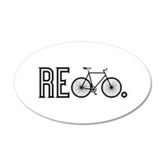 Re Bicycle Wall Decal