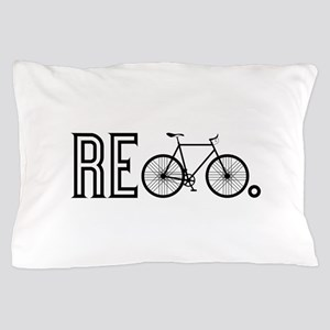 Re Bicycle Pillow Case