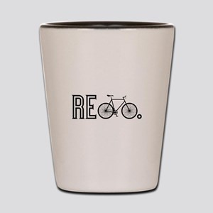 Re Bicycle Shot Glass