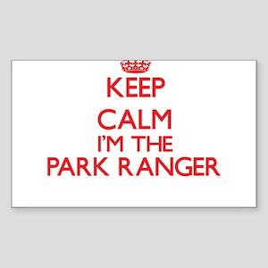 Keep calm I'm the Park Ranger Sticker