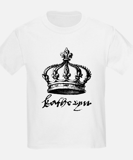 Catherine Howard Crown and Signature T-Shirt