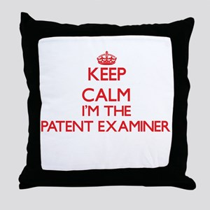 Keep calm I'm the Patent Examiner Throw Pillow