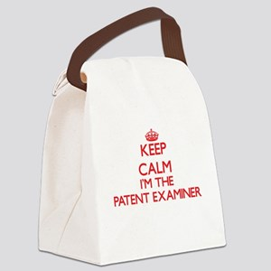 Keep calm I'm the Patent Examiner Canvas Lunch Bag