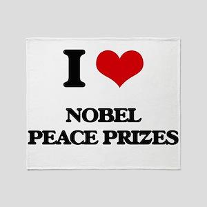 nobel peace prizes Throw Blanket