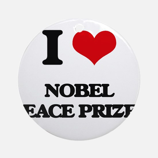 nobel peace prizes Ornament (Round)