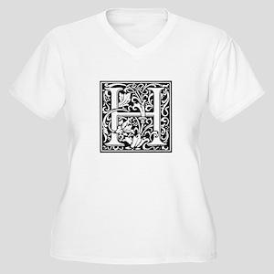 Cloister Alphabet Renaissance St Plus Size T-Shirt