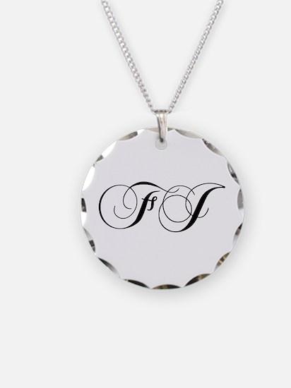FJ-cho black Necklace