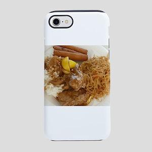 Filipino chicken adobo,lumpia iPhone 7 Tough Case