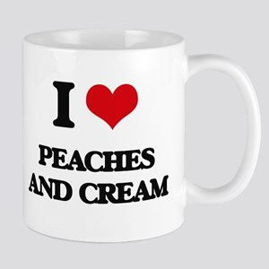 peaches and cream Mugs