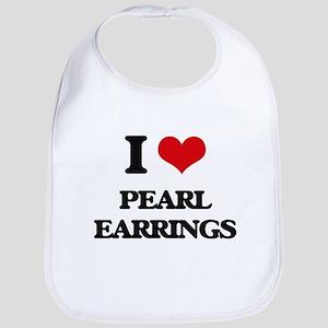 pearl earrings Bib
