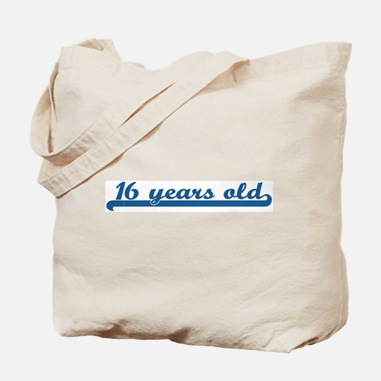 16 years old (sport-blue) Tote Bag