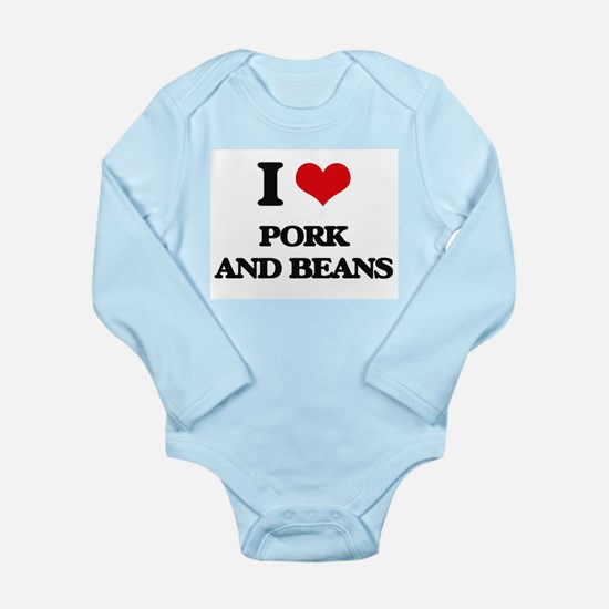 pork and beans Body Suit