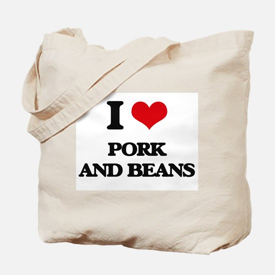 pork and beans Tote Bag