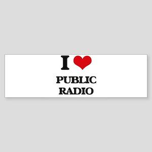 public radio Bumper Sticker