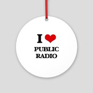 public radio Ornament (Round)