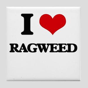 ragweed Tile Coaster