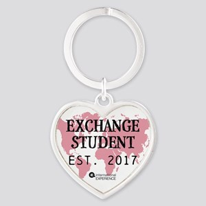 Established Pink Heart Keychain