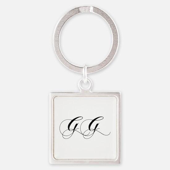 GG-cho black Keychains