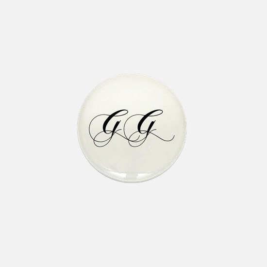 GG-cho black Mini Button