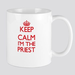 Keep calm I'm the Priest Mugs