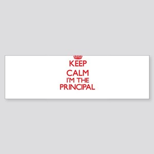 Keep calm I'm the Principal Bumper Sticker