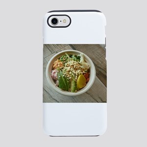 bowl of poke with avocado and iPhone 7 Tough Case