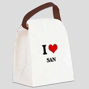 san Canvas Lunch Bag