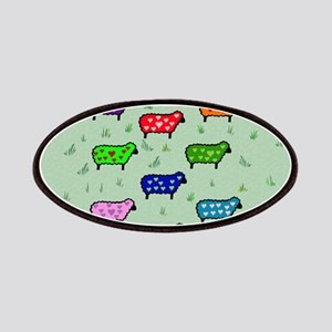 Chinese Year Of the Peaceful Sheep Patches