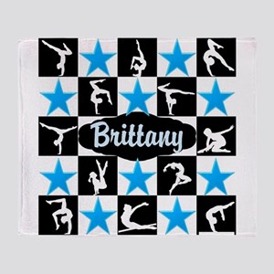 GYMNASTICS QUEEN Throw Blanket