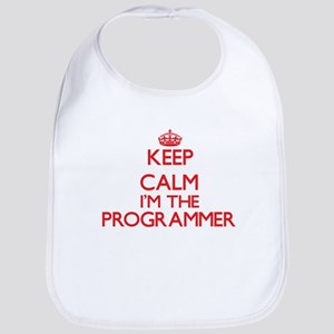 Keep calm I'm the Programmer Bib