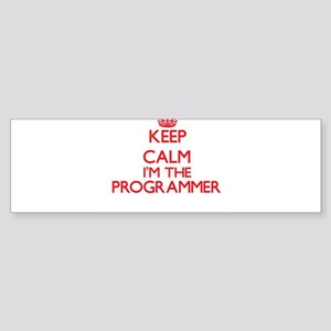 Keep calm I'm the Programmer Bumper Sticker