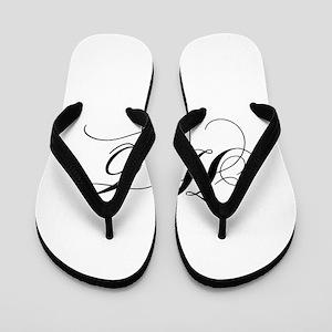 HC-cho black Flip Flops
