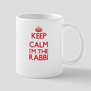 Keep calm I'm the Rabbi Mugs
