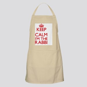 Keep calm I'm the Rabbi Apron