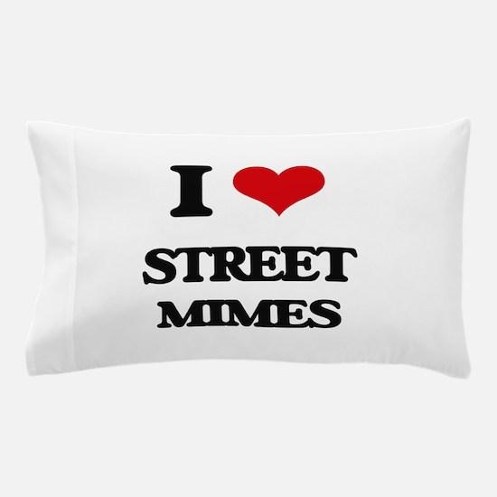 street mimes Pillow Case
