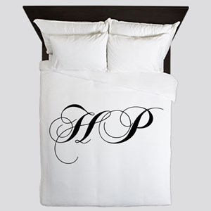 HP-cho black Queen Duvet