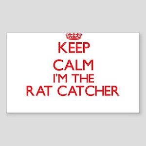 Keep calm I'm the Rat Catcher Sticker