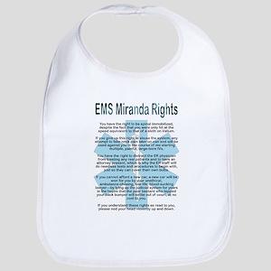 EMS Miranda Rights Bib