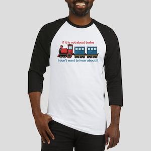Train Talk Baseball Jersey
