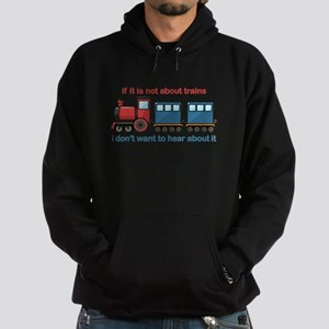 Train Talk Hoodie (dark)