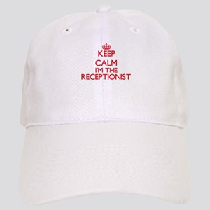 Keep calm I'm the Receptionist Cap