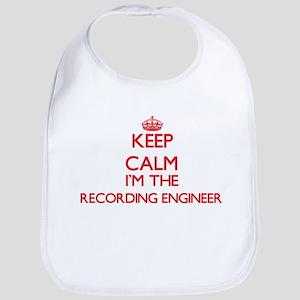 Keep calm I'm the Recording Engineer Bib
